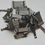 Klijuota metalinė fibra